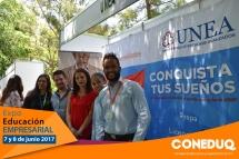 Expo educación empresarial y coneduq