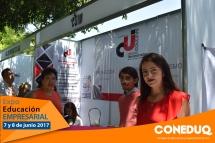 Expo educación empresarial y talleres